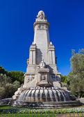 Cervantes Monument at Madrid Spain — Stock Photo