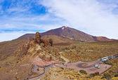Vulkanen teide på teneriffa - kanariefågel — Stockfoto