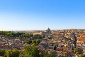 Toledo Spain at sunset — Stock Photo