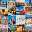 Stack of Turkey travel images — Стоковое фото