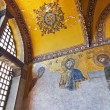 Mosaic interior in Hagia Sophia at Istanbul Turkey — Stock Photo #51088735