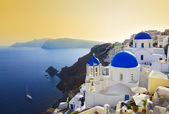 Santorini church (Oia), Greece — Stock Photo