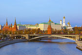 Kremlin on sunset in Moscow Russia — Stock Photo