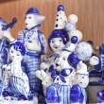 Gzhel toys collection — Stock Photo #51505961