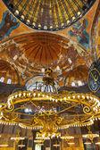 Hagia interior de sophia em istambul turquia — Foto Stock