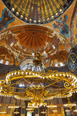 Hagia Sophia interior at Istanbul Turkey — Stock Photo