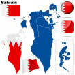Bahrain vector set. — Stock Vector