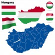 Hungary vector set. — Stock Vector #18686581