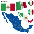 Mexico vector set. — Stock Vector