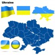 Ukraine vector set. — Stock Vector