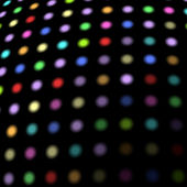 Disco lights background — Stock Vector