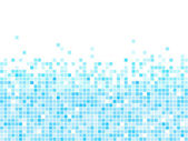 Blue mosaic vector background — Stockvektor