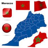 Morocco vector set. — Stock Vector