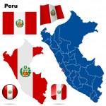Peru vector set. — Stock Vector #19023621
