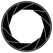 Shutter frame — Stock Vector