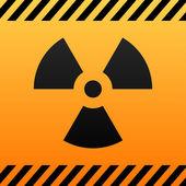 Radiation hazard — Stock Vector