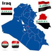 Iraq vector set. — Stock Vector