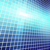 Abstract blue light mosaic vector background. — Stock Vector