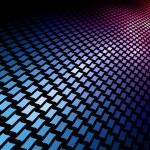 3D spectrum mosaic — Stock Vector