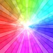 Colorful spectrum vector background. EPS10 file. — Imagen vectorial
