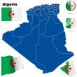 Algeria vector set. — Stock Vector #21456987