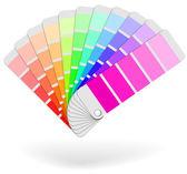 Color sample catalogue sheaf vector icon — Stock Vector