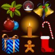 Royalty-Free Stock Vectorafbeeldingen: Christmas vector set. Eps8 - no transparency.