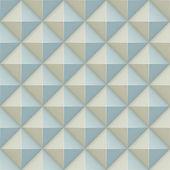 Pirámide relevación superficial de patrones sin fisuras. — Vector de stock
