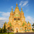 Sts. Peter and Paul Cathedral in Petergof, Saint-Petersburg, Rus — Stock Photo #32332395