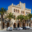 Ayuntamiento de Ciutadella building in the center of old town, M — Stock Photo