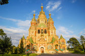 Sts. Peter and Paul Cathedral in Petergof, Saint-Petersburg, Rus — Stock Photo