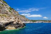 Menorca island south coast scenery, Spain. — Stock Photo