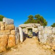 Torre d'en Gaumes (Galmes) ruins at Menorca island, Spain. — Stock Photo