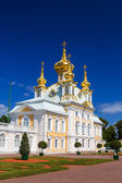 The East Chapel of The Peterhof Grand Palace in Saint-Petersburg — Stock Photo
