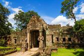 Ancient Preah Khan temple entrance, Siem Reap, Cambodia — Stock Photo