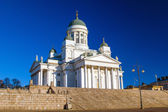 Helsinki Cathedral or St Nicholas' Church — Stock Photo