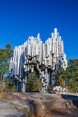 The Sibelius Monument dedicated to the Finnish composer Jean Sib — Stock Photo