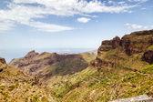 Tenerife island landscape near Masca village — Stock Photo