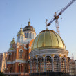 Construction of Orthodox Church - Stock Photo