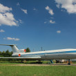 Stock Photo: Airliner TU-154