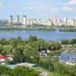 Stock Photo: Panorama of Kiev
