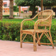 Cane-chair — Stock Photo