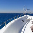 Motor yacht - Stock Photo
