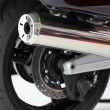 Stock Photo: Motorcycle exhaust pipes