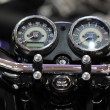 Stock Photo: Dashboard motorcycle