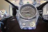 Motorcycle speedometer — Stock Photo