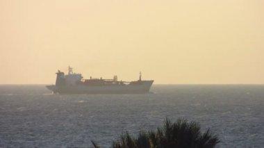 Tanker loď — Stock video