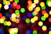 Abstract christmas bokeh lights — Photo
