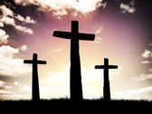 Three cross — Stock Photo