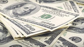 Billetes de dólar — Foto de Stock